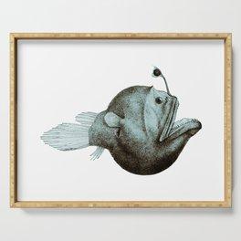 Anglerfish Diceratias bispinosus Serving Tray