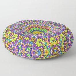 kaleidoscope Crystal Mandala G516 Floor Pillow