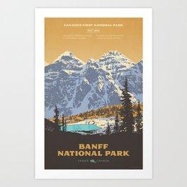 Banff National Park Kunstdrucke