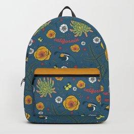 California Native, Blue Backpack