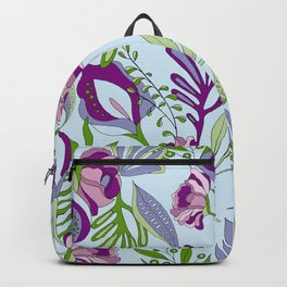 Patterns Photoshop, illustrator. Illustrations handmade with lots of love Backpack