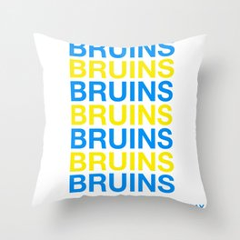 UCLA BRUINS HAVE A NICE DAY Throw Pillow