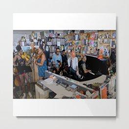 Mac Miller Poster, NPR Music Tiny Desk Concert Metal Print