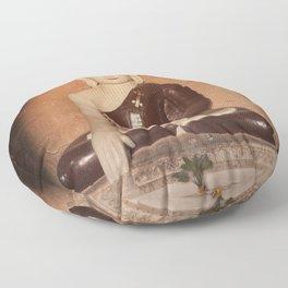 Buddha in Bagan Floor Pillow