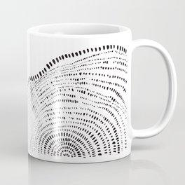 Tree Rings No. 2 Line Art Coffee Mug