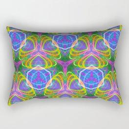 490.5 trippy tile Rectangular Pillow