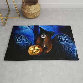 Samhain Witch Rug