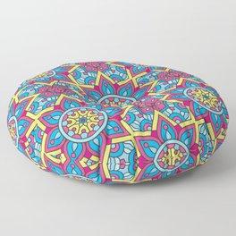 Geometric Oriental Floor Pillow
