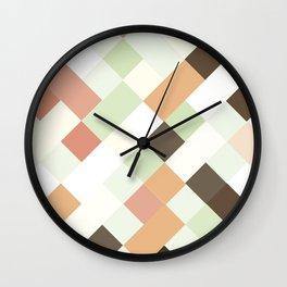 Woven Ice Cream Wall Clock