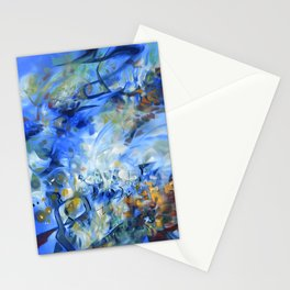 Solo Concerto in Blue Stationery Cards