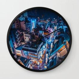 Tokyo 36 Wall Clock