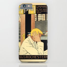 Advertisement pl 76 geo p humphrey rochester ny iPhone Case