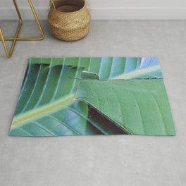 Fine Art Exotic Leaf Macro, Close-Up Art Photo Rug