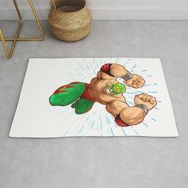 Lucha Libre Luchador designs Rug
