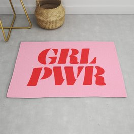 Girl Power GRL PWR Rug