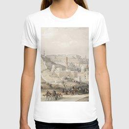 Karnac (Karnak)  by David Roberts (1796-1864) T-shirt