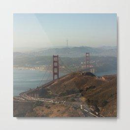 The beautiful city of San Francisco. Metal Print