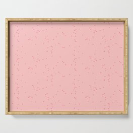 Light Pink Shambolic Bubbles Serving Tray