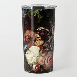 """Ernst Stuven """"Still life of flowers"""" Travel Mug"""