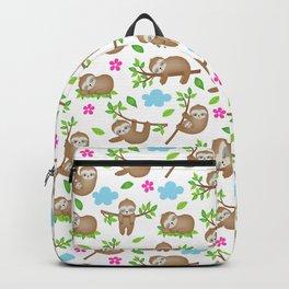 Sloth Neck Gator Hanging Sloth Backpack