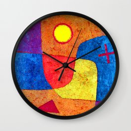 Paul Klee Holy Angel Wall Clock