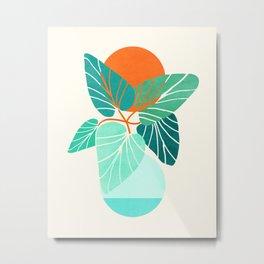 Tropical Life Metal Print
