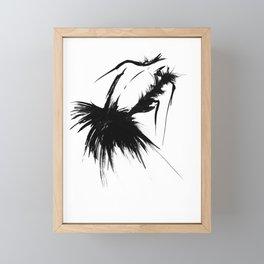Number XX Framed Mini Art Print