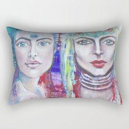Protectors of Peace & Beauty Rectangular Pillow