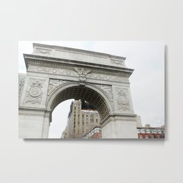 The Arch in Washington Square Park Metal Print