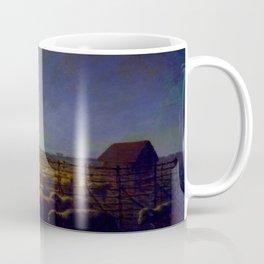 "Jean-François Millet ""The Sheepfold, Moonlight"" Coffee Mug"