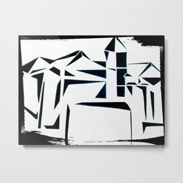 Building Shadows Metal Print