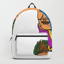 Emperor Napoleon Bonaparte Mono Line Backpack