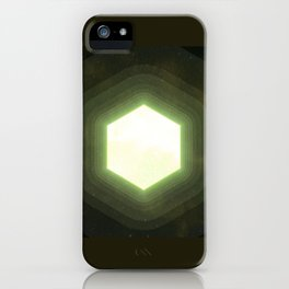 Earth II Hexahedron iPhone Case
