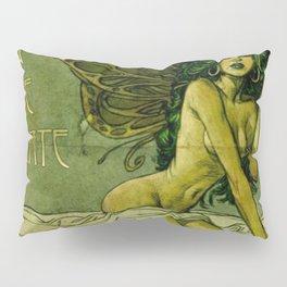 Absinthe La Fee Verte Pillow Sham