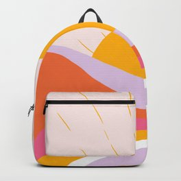 laurel canyon sunrise Backpack