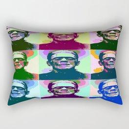 Frankenstein Pop Art Rectangular Pillow