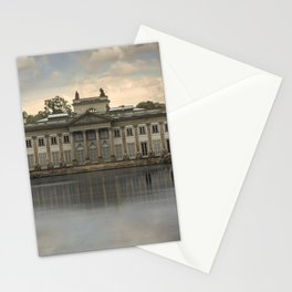 Royal Palace in Warsaw Baths Stationery Cards