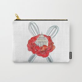 Rome, Whisk, Roses Carry-All Pouch