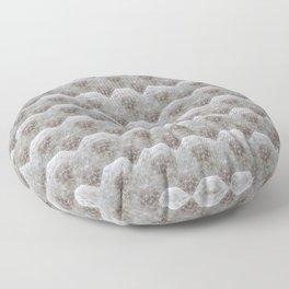 Dandelion Heart - Octahedron - Mosaik Nature Herb Pattern Floor Pillow