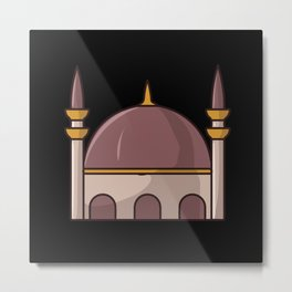 Mosque Metal Print