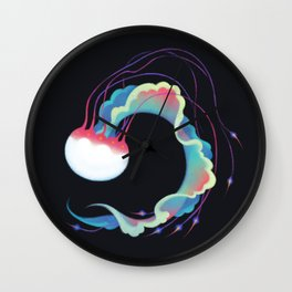 Jellyfish 3 Wall Clock