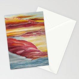Jasper Sunset Painting Stationery Cards
