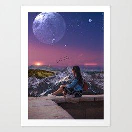 Somewhere Far Away Art Print