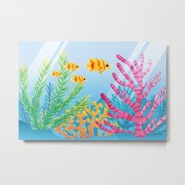 Virtual Fishtank Metal Print