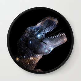 Dinosaurs...in Space Wall Clock