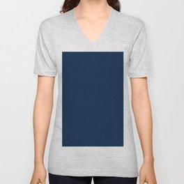 Oxford Blue Light Pixel Dust Unisex V-Neck