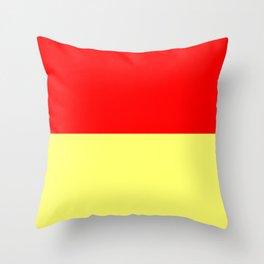 Jelly & Custard Throw Pillow