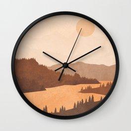 Deep River Country Wall Clock