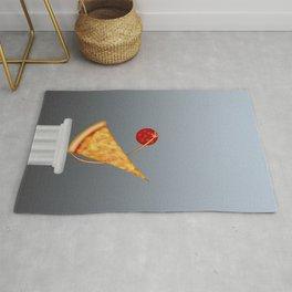 classic pizza Rug