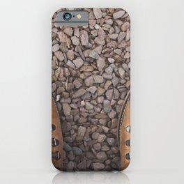 Traveling / Hiking Boots - Minimalist Photography iPhone Case